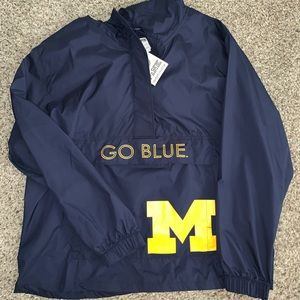 VS PINK Michigan Windbreaker